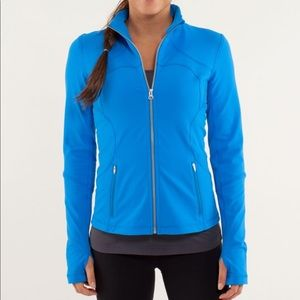NWT Lululemon Forme Jacket in Beaming Blue - Sz 6